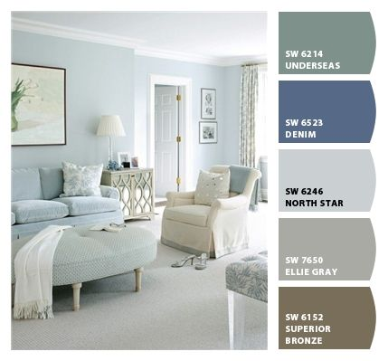 Paint Colors From Colorsnap By Sherwin Williams Ellie Gray Silverplate Chill Crushed Ice First Star Front Porch Pinterest