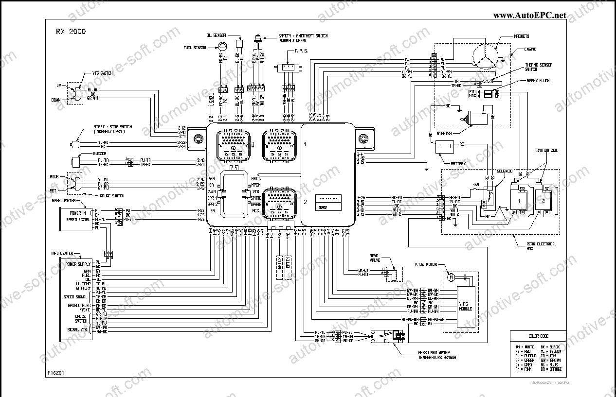 sea doo wiring diagram electrical wiring diagrams 1993 Seadoo XP at 1997 Seadoo Xp Vts Wiring Diagram