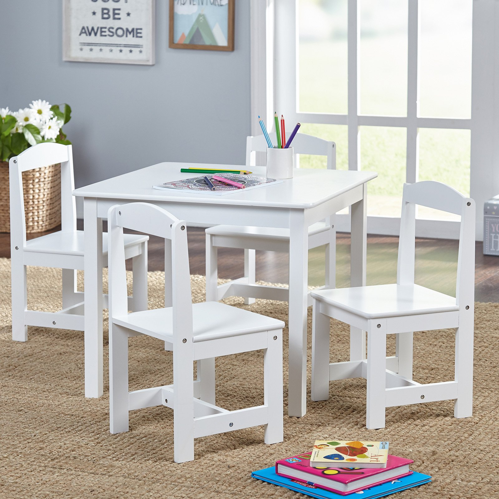 Target Marketing Systems Hayden 5 Piece Kids Table And Chair Set