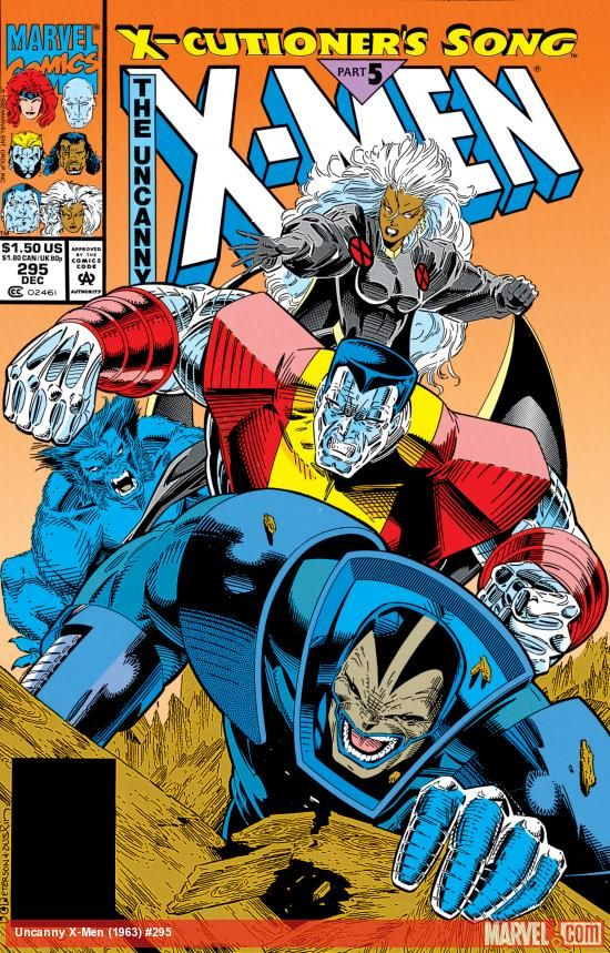 Uncanny X Men 1963 295 Marvel Comics Superheroes Comic Book Heroes Marvel Comics Covers