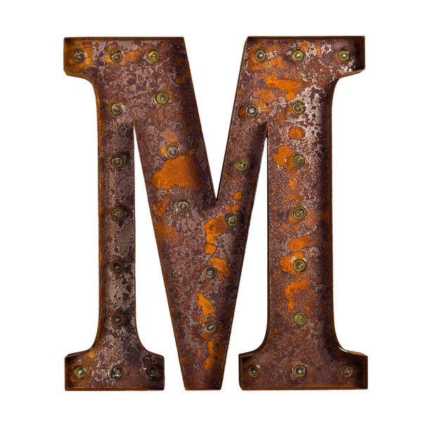 Marquee Light M Rust