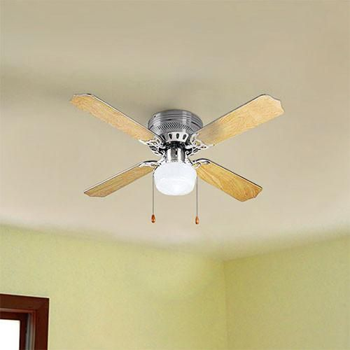 Bright Star Light Wood Ceiling Fan With Light Livecoppercoza