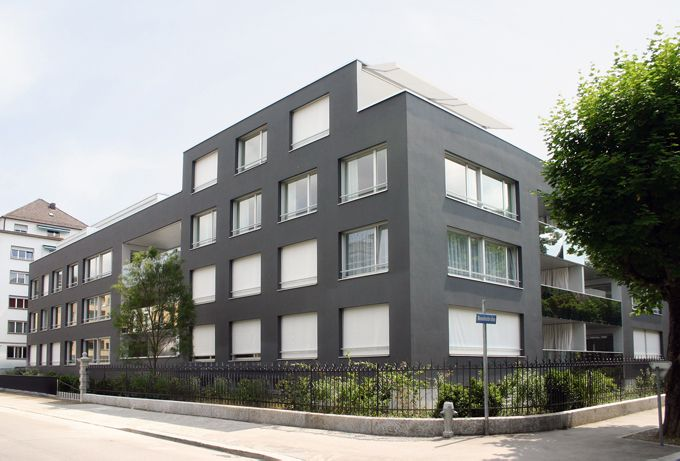 Housing development neum nsterallee zurich gigon guyer for Modernes haus zurich