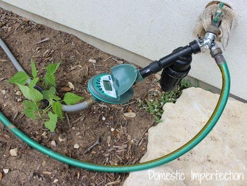 Create A Self Watering Garden