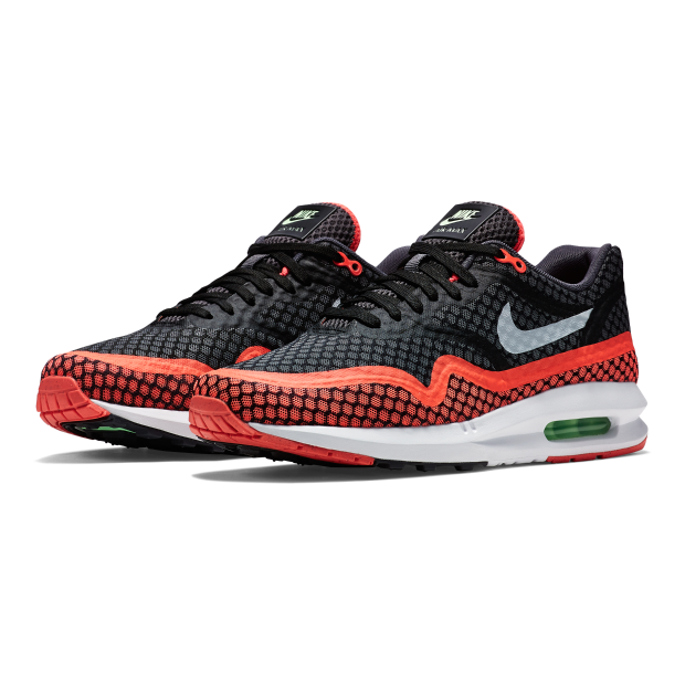 NIKE AIR MAX LUNAR 1 BLACK GOT LAVA 684808 001 $180
