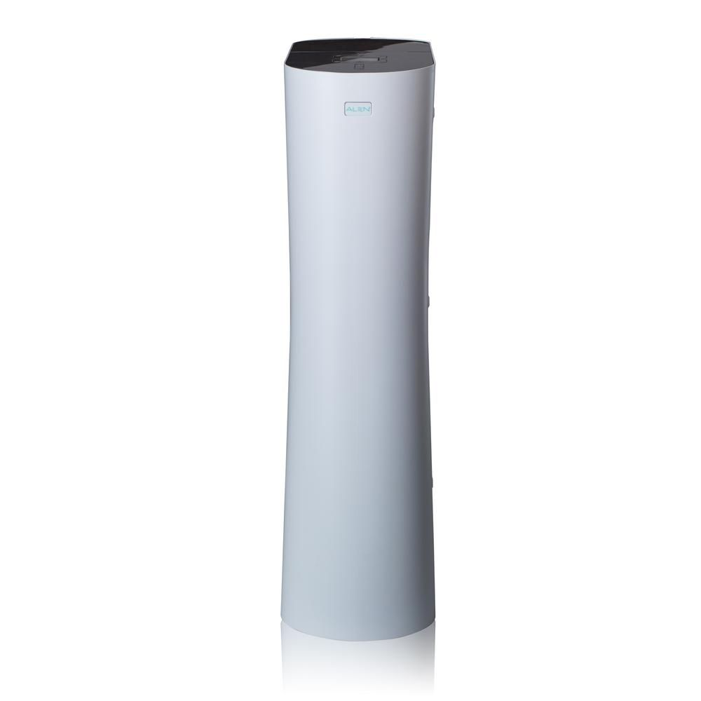 Alen Paralda Tower Hepa Air Purifier White With Green Tint In 2019 Air Purifier System Clean