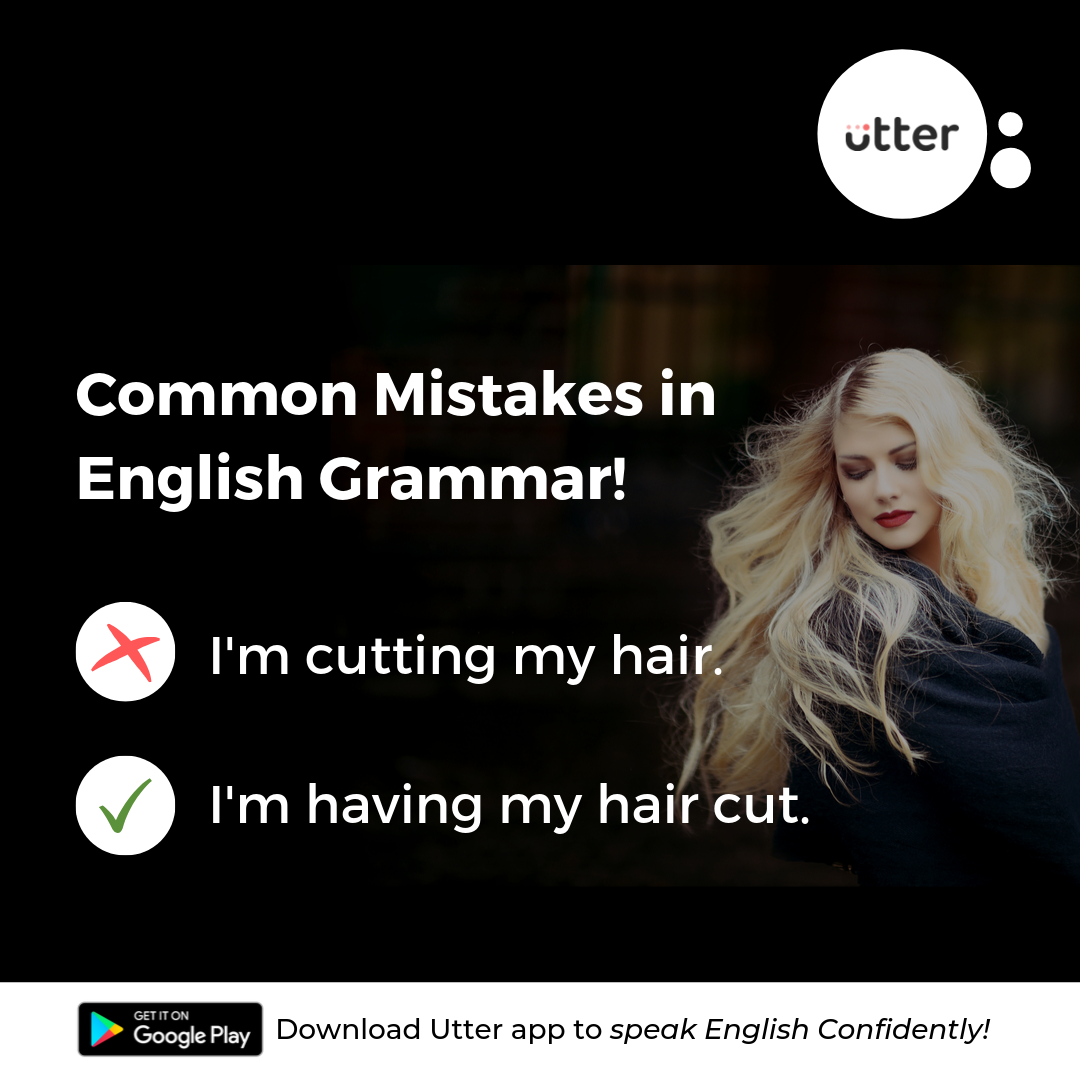 Common mistakes in English grammar!  Learn english today, Good