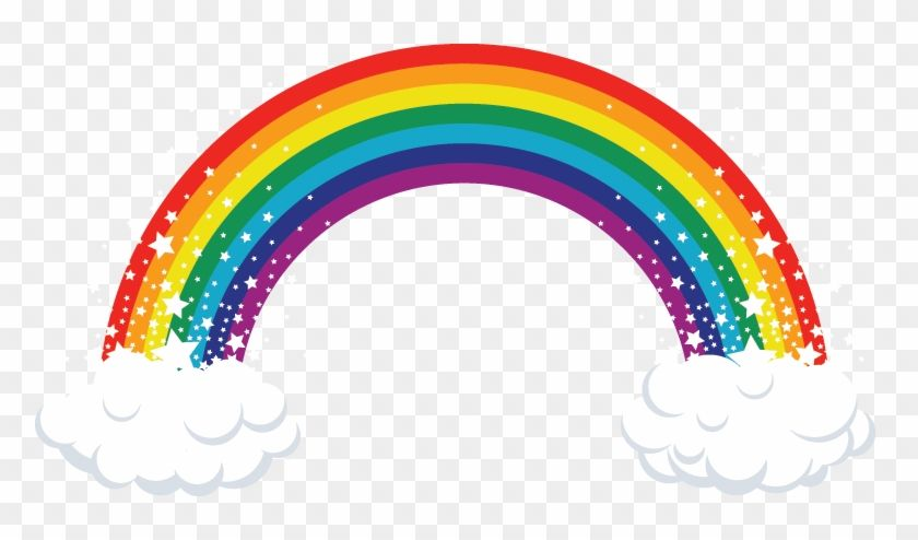 Download And Share Clipart About الوان قوس قزح Rainbow Cake Topper Printable Find More High Quality Free Transparen Rainbow Clipart Rainbow Cake Rainbow Png