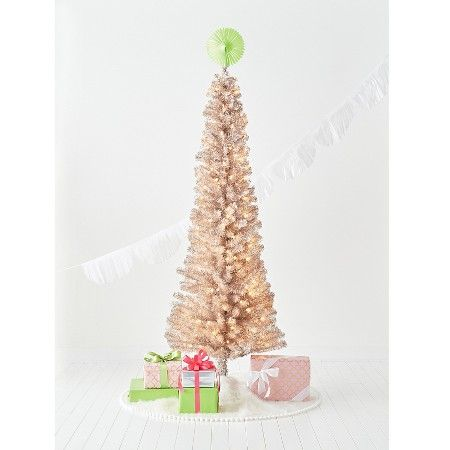 6ft Slim Pre Lit Christmas Tree