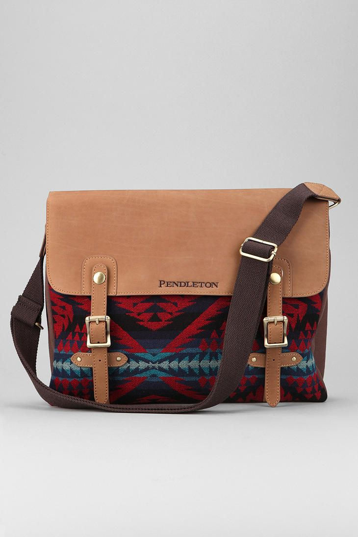 186ca1a20b Pendleton Mini Diamond Messenger Bag