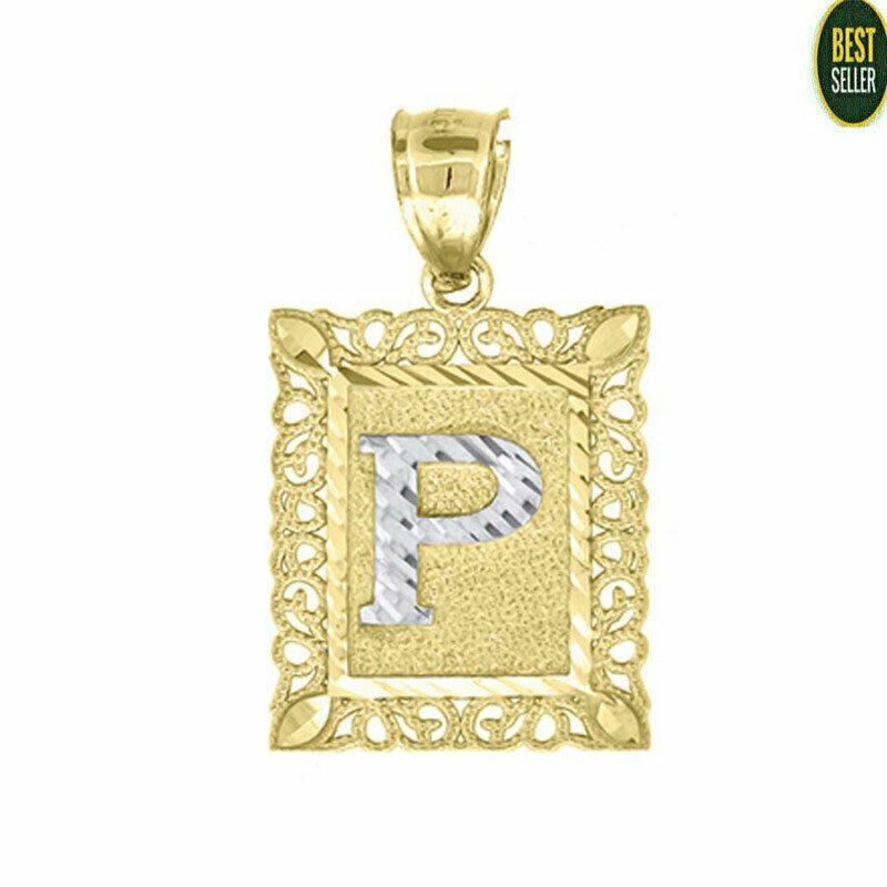 Solid 10kt Yellow Gold Fashion Initial Alphabet P Pendant Charm Gifts Small Tiny Pendant In 2020 White Gold Diamond Earrings Cheap Jewelry Online Ebay Jewelry