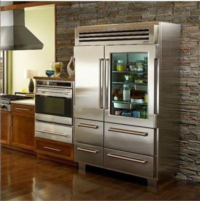 Subzero 48 Pro Glass Door Refrigerator Sub Zero And Wolf Dream
