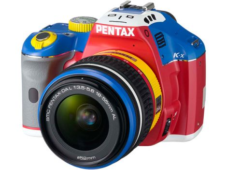 Pentax K x Goes Cartoon