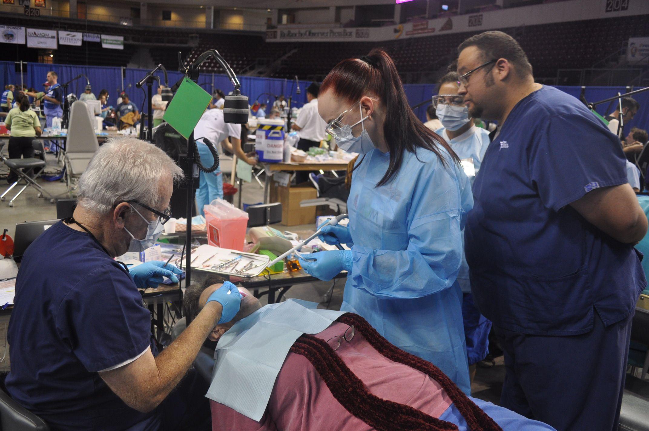 Dental hygiene dental assistant and medical assistant