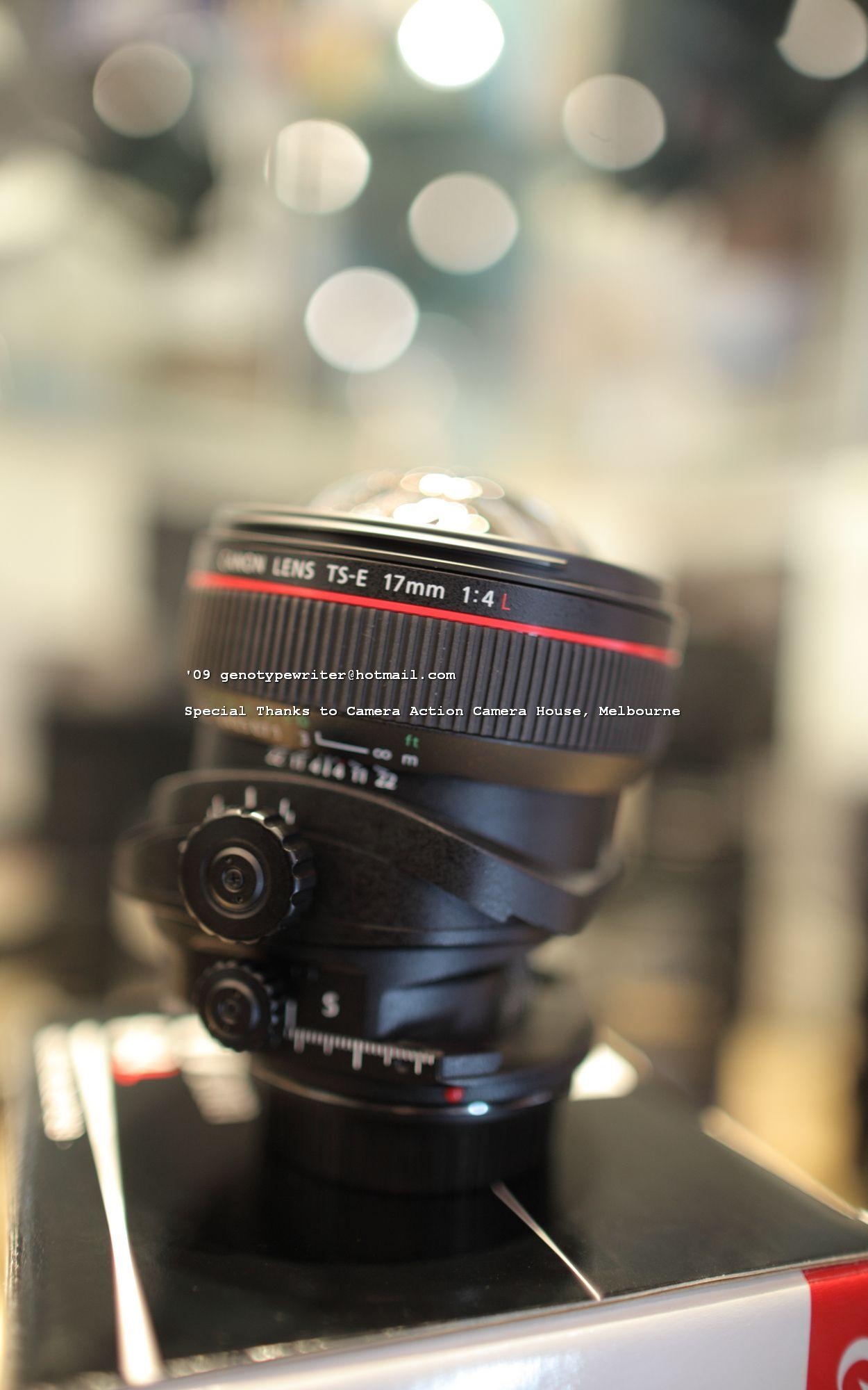 Canon Ts E 17 Mm F4 0 L Tilt Shift Lens Photo Gear Tilt Shift Tilt Shift Lens