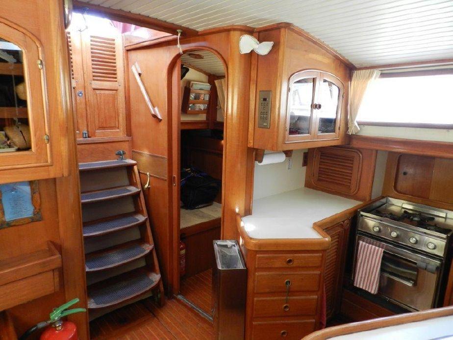 1986 Hans Christian CHRISTINA 43 Sail Boat For Sale www
