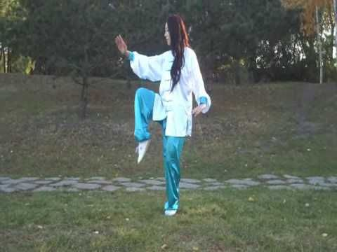 #Yang Tai Chi 40-Form Dr. Pauline Bao is so elegant to watch. Enjoy! www.rx4nails.com