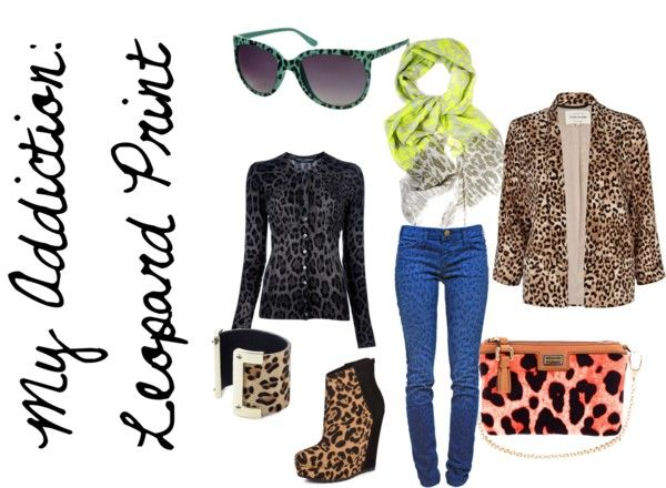 """""""Leopard Addiction"""" by sunshineitgirl on Polyvore"""