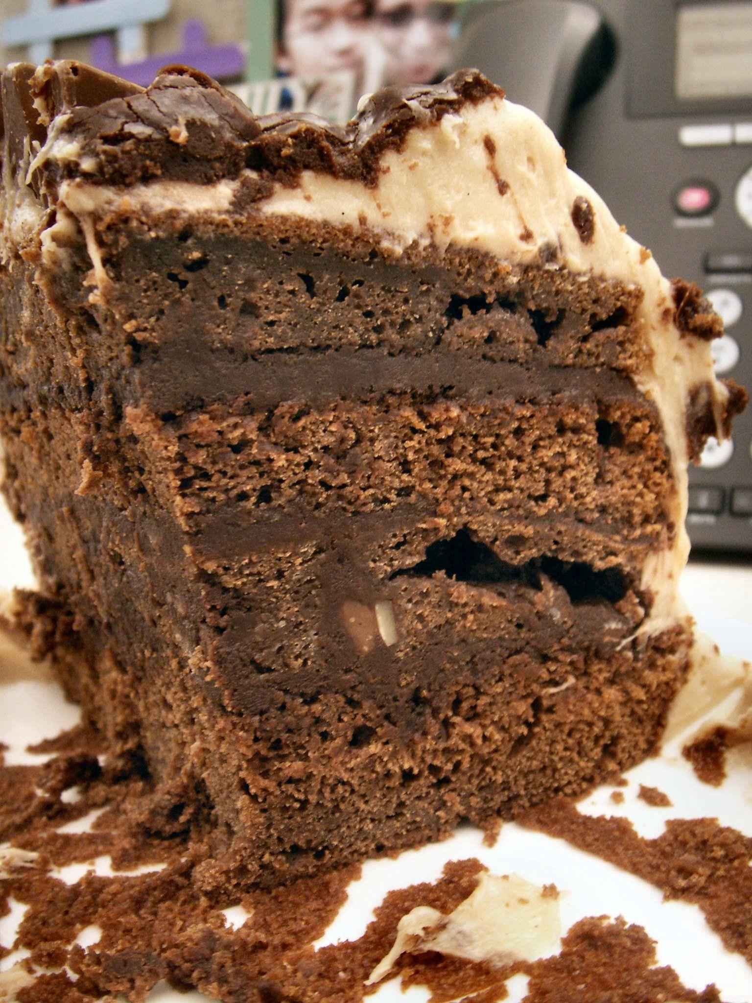 Chocolate Toblerone Layer Cake Inspiration Make Gluten Free Vegan
