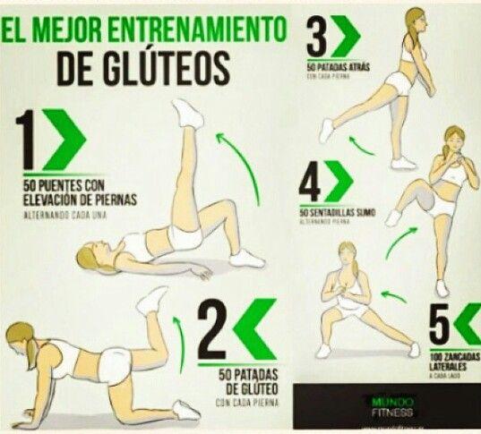 Gluteos De Piedra Gracias A Estos Ejercicios Health Fitness Fitness Workout