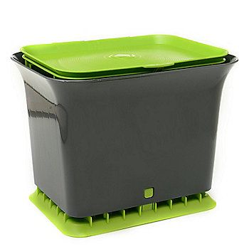 full circle fresh air compost container u0026 compostable bags set