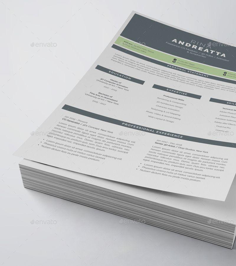 Resume Cv 2 Page Sponsored Resume Cv Page Resume Cv
