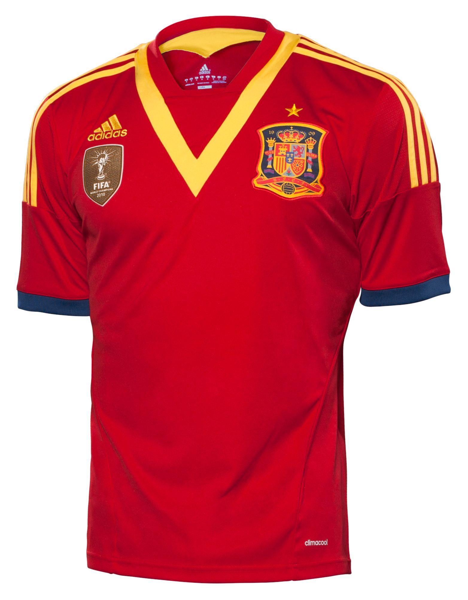 50de7743bb42c Camiseta España 1ª Copa Confederaciones 2013