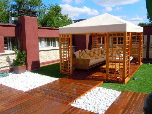 Césped artificial en terrazas y áticos cómo quedará y pasos para