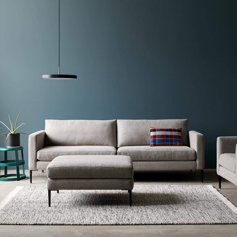 Loop White Rug 8'3 x 11'6 in 2020 | White rug, Living room ...