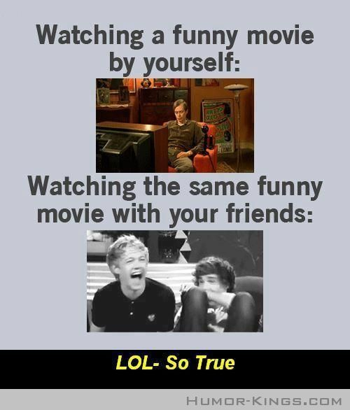 It's so embarrassing! Sometimes when I watch a movie by myself I start to point something out but in mid-sentance I realize I'm alone. O.O