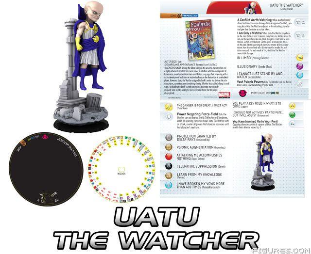 Uatu info for heroclix!