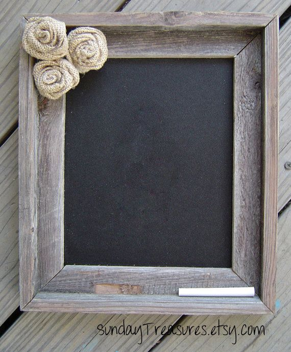 vieux bois de grange barnwood chalkboard jute par sundaytreasures deco pinterest grange. Black Bedroom Furniture Sets. Home Design Ideas