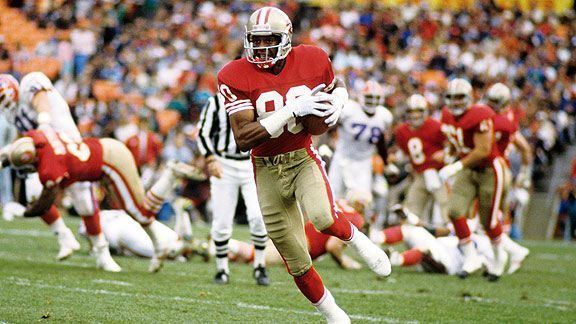 """I believe in chiropractic, and I know that it works. You probably know about my long and successful career in football. I'm flattered by the testimonials to my durability. Football is a very rough and vigorous sport...Chiropractic was the key to keeping me in the game."" ~ Jerry Rice ~ Wide Receiver ~ San Francisco 49ers ~ 3 time Superbowl Champion and Superbowl MVP"