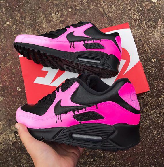 Pink Faded Nike Air Max 90 Nike Schuhe Schuhe Damen Turnschuhe