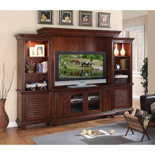 Riverside Furniture Windward Bay Entertainment Center Riverside