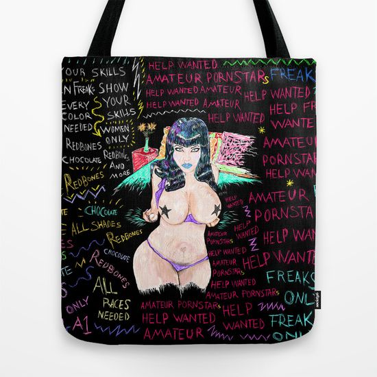 Amateur Pornstars  Tote Bag
