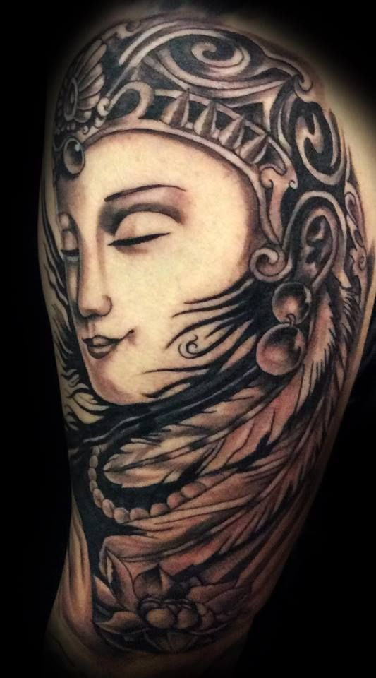 Henna Tattoo In Johannesburg: Buddha Tattoo By Angelo @ Rising Dragon Tattoo. Fourways
