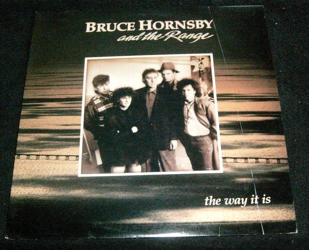 Bruce Hornsby And The Range The Way It Is Lp Album Vinyl 1986
