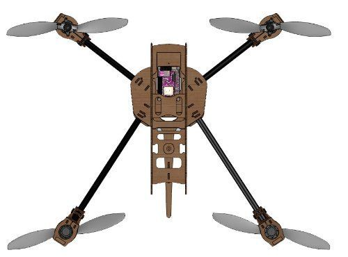 Drone Design Ideas : CDX4 Quadcopter Frame KIT by Cheap Drones Game ...