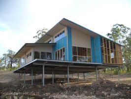 Ezy homes steel pole kit homes qld nsw vic sa tas for Kit home designs nsw