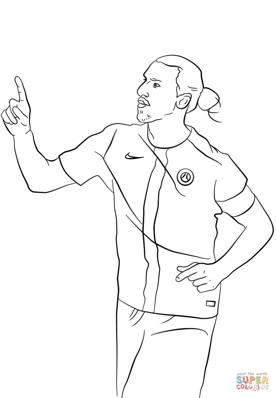 coloring soccer players - Google leit | Fotboll