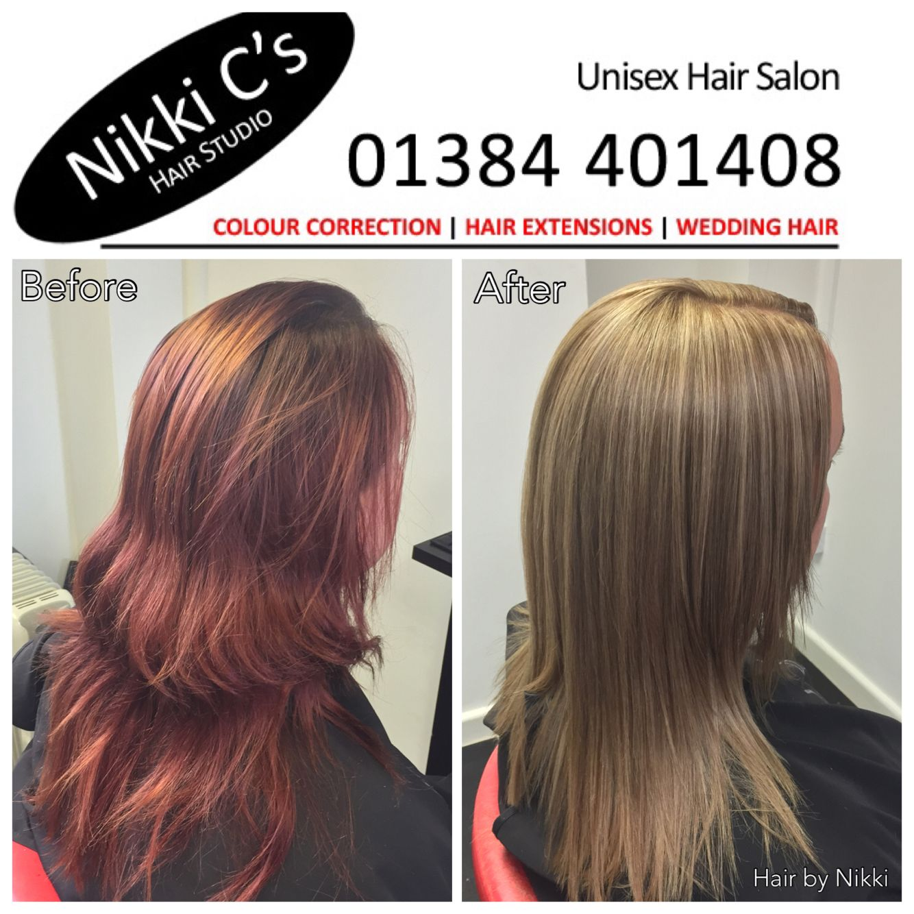 Cleanse With Full Head Foils And All Over Dark Blonde Hair Colors