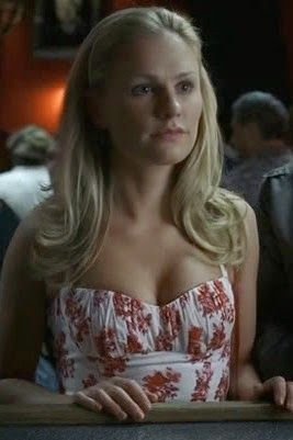 Morningstar Pinup: Sookie Stackhouse's Red & White Floral Halter Dress