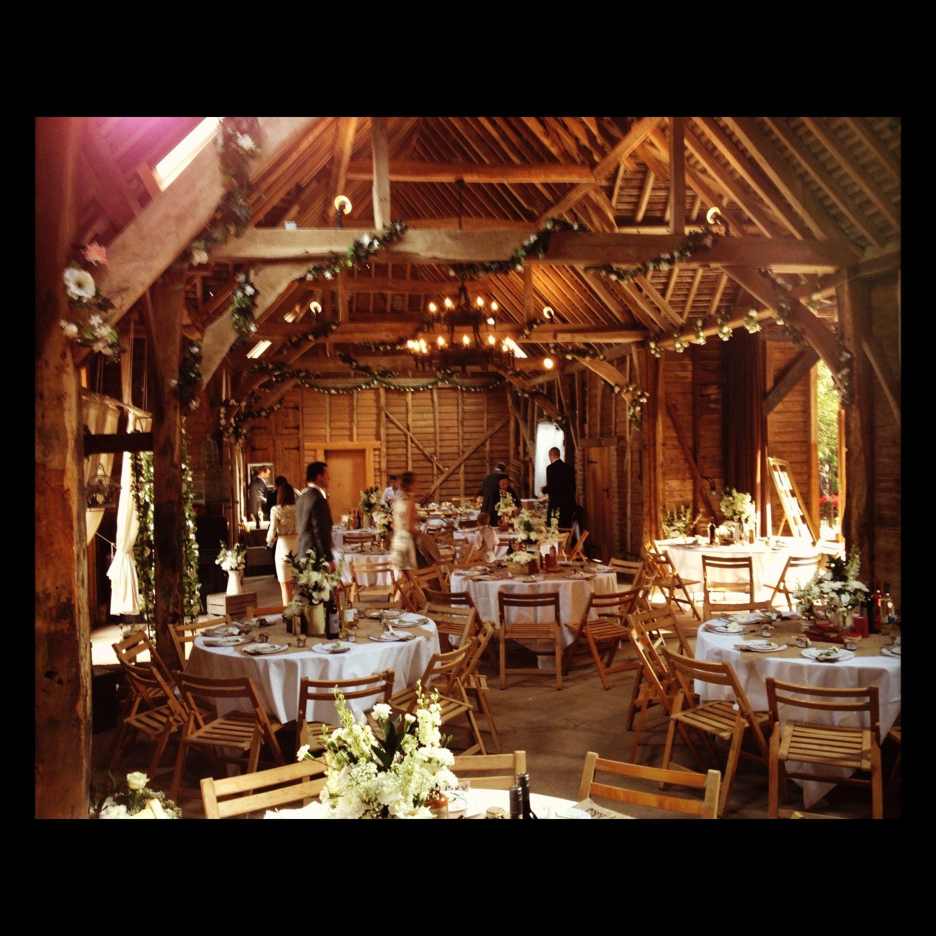 Vintage Barn Wedding Ideas: Rustic Barn Wedding Breakfast