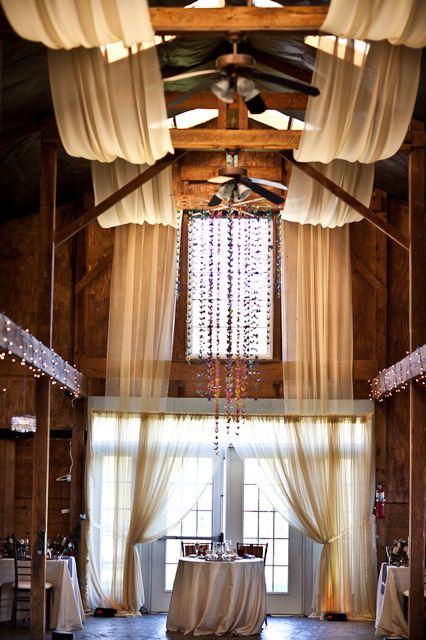 The Draping Brandywine Manor House Ceiling Decor Vineyard Wedding Venue