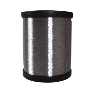 """CCS wire is also known as """"CP"""" wire, high-class and low-Carbon steel is chose as core, clad by non-oxygenic pure copper evenly by mechanical method, then plated by pure Tin. Due to the high purity of layers, the copper layer and tin layer are combined close-grainedly. Ccs wire can be sorted to annealed(A) and hard(H).   Tinned CCS wire combines the high electricity conductivity & magneto conductivity of Copper, high strength of steel and thermal conductivity, corrosion resistance of tin"""