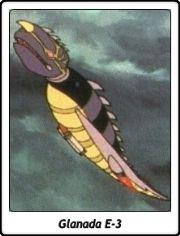 Glanada E-3 / Ballena Atómica E-3 / Mazinger Z / 1972 / TV Serie / Anime / Brutos Mecánicos