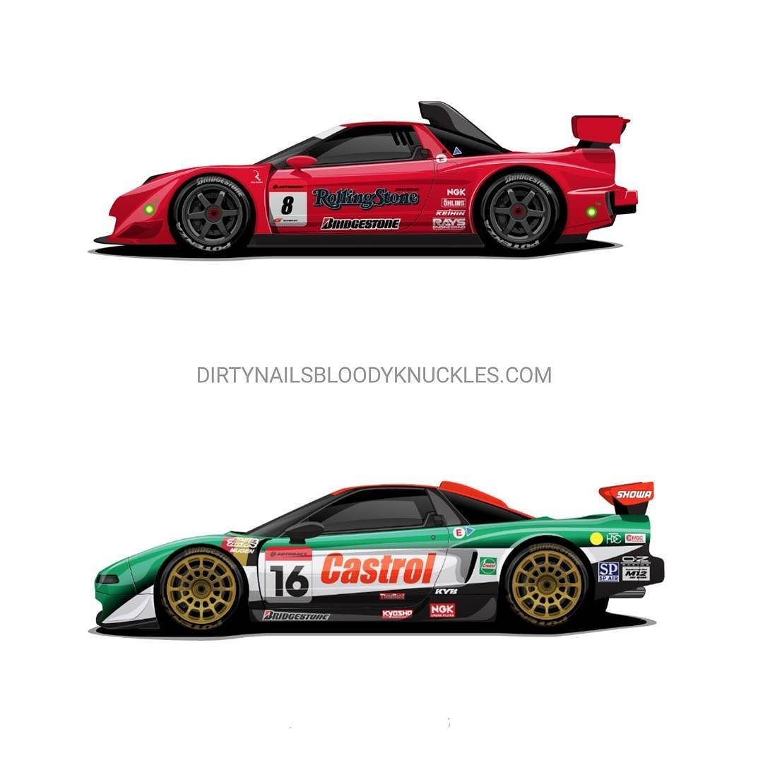 Two Of My Faves From The NSX Motorsport Legends Print