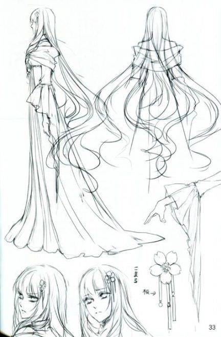 Photo of Best Drawing Hair Flowing Anime Girl Ideas