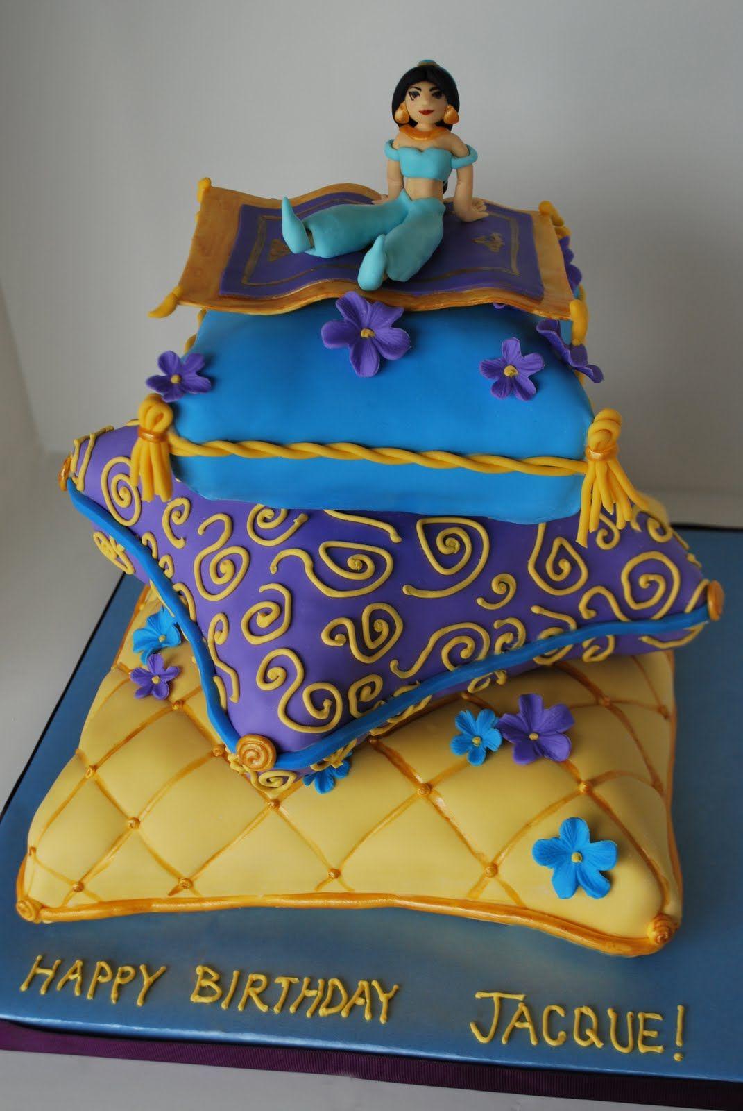 Jasmine Cake On Pinterest Princess Jasmine Cake Aladdin